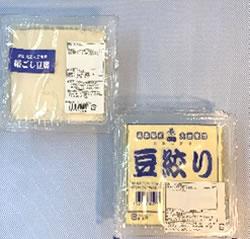 絹ごし豆腐もめん豆腐